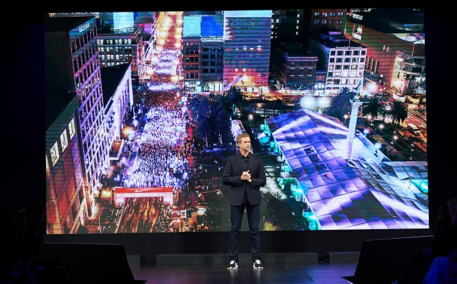 Mark Parker, President & CEO of NIKE, Inc, shared Nike's vision for accelerating its women's business growth to reach $7B in revenue by FY17.jpg